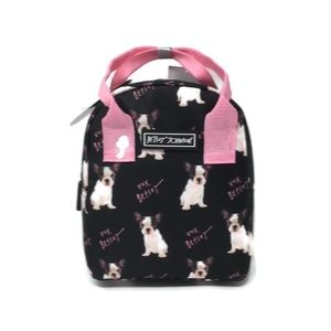 Betsey Johnson I French Bulldog Lunch Tote